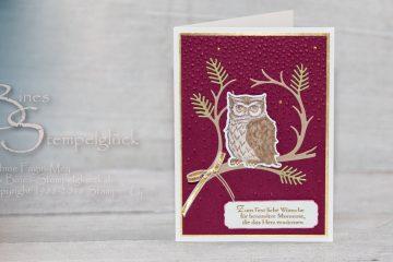 Weihnachtskarte basteln mit Stampin' Up! Produkten