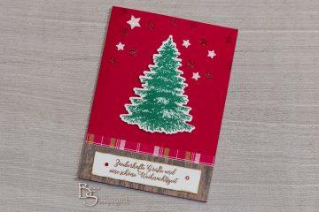 Grußkarte zu Weihnachten