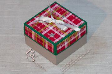 Geschenkschachtel zu Weihnachten