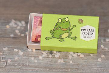 Verpackung Froschkönig