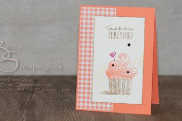 Geburtstagskarte Hello Cupcake – Süße Grüße für Dich 2.0