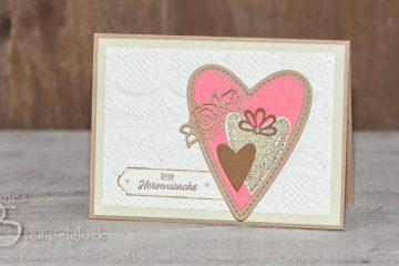 Valentinskarte • Karte für Verliebte