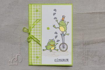 Gratisprodukt Stempelset Froschkönig