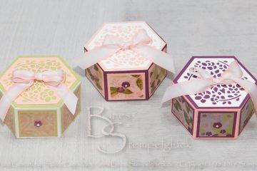 Fensterschachtel Blütensinfonie • Elegante Verpackung • Stampin' Up!