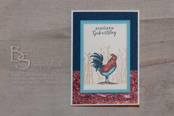 """Prachtvolle Geburtstagskarte """"Augenblicke der Freundschaft"""" – Stampin' Up!"""