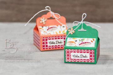 "Süße Verpackung ""Painted Seasons"" • Basteln mit Stampin' Up Produkten!"