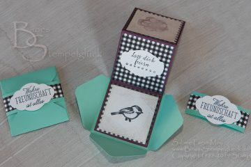 Leporello Karte basteln mit Stampin' Up! Produkten