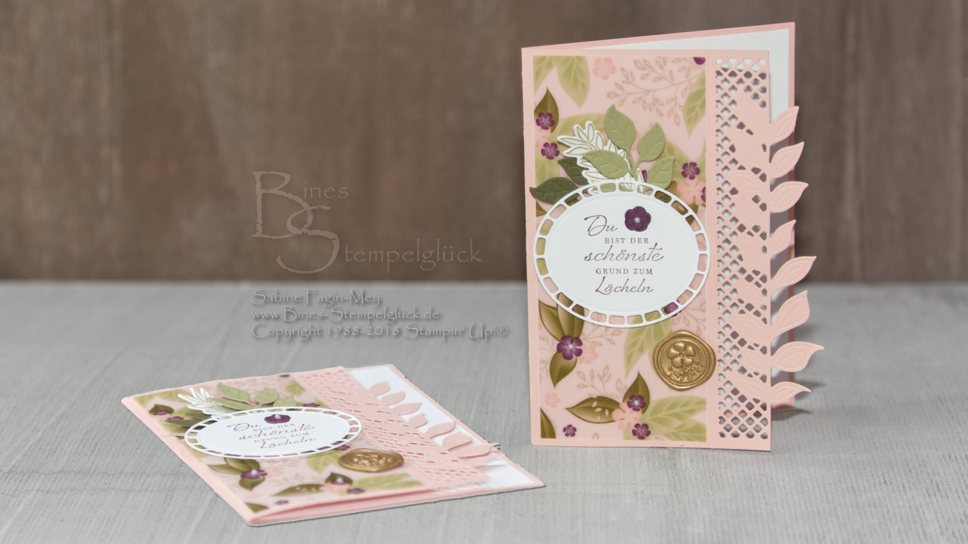 Zauberhafte Karte Blütensinfonie Mit Stampin Up Bines Stempelglück