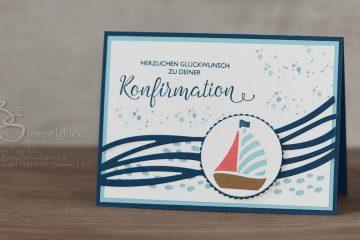 Glückwünsche zur Konfirmation / Kommunion mit Stampin' Up!