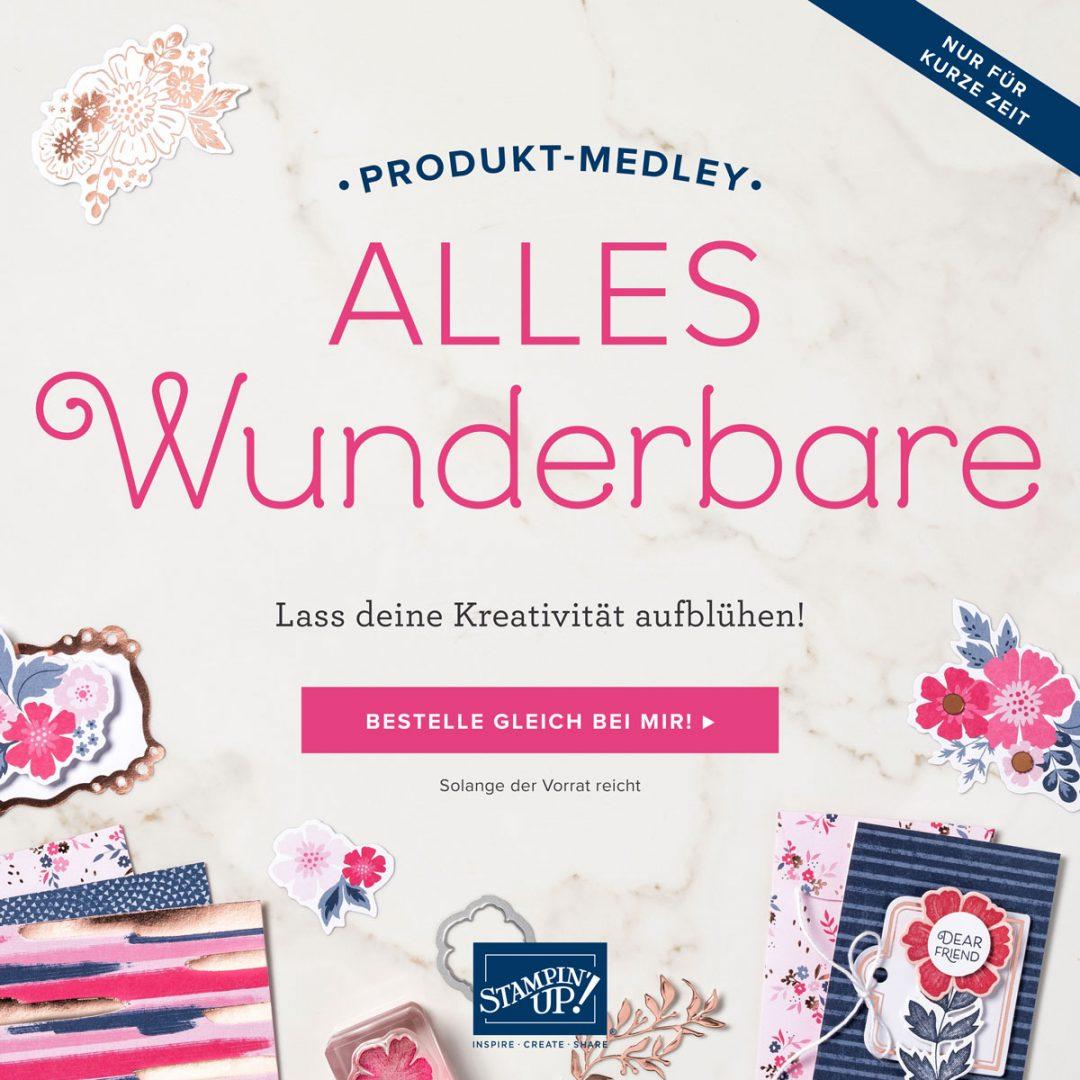 """Produkt-Medley """"Alles Wunderbare"""" von Stampin' Up!"""