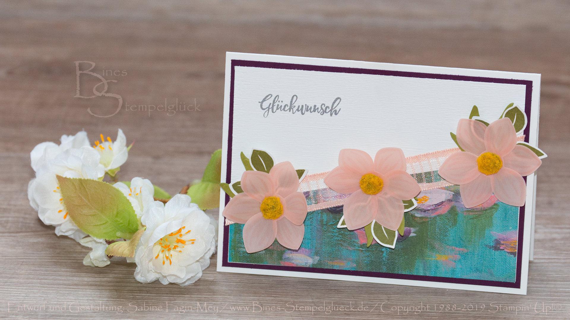 Neues Produktpaket Florale Freude - Karte Florale Freude