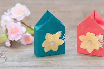 Häuschen-Box Florale Freude selbst basteln mit Stampin' Up!
