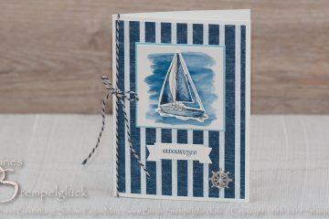 Setz die Segel • Maritime Glückwunschkarte