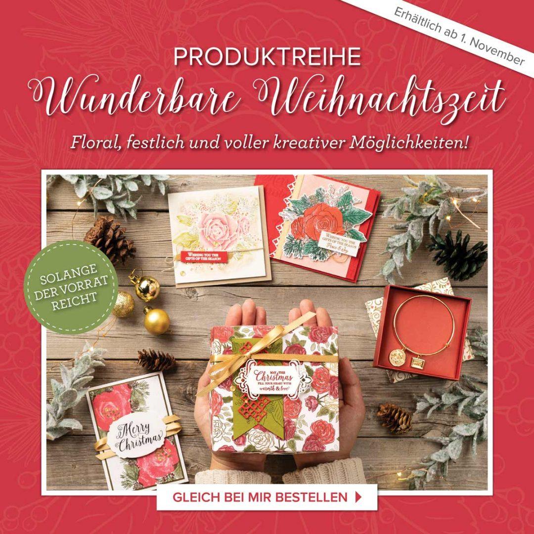 """Produktreihe """"Wunderbare Weihnachtszeit"""" von Stampin' Up!"""