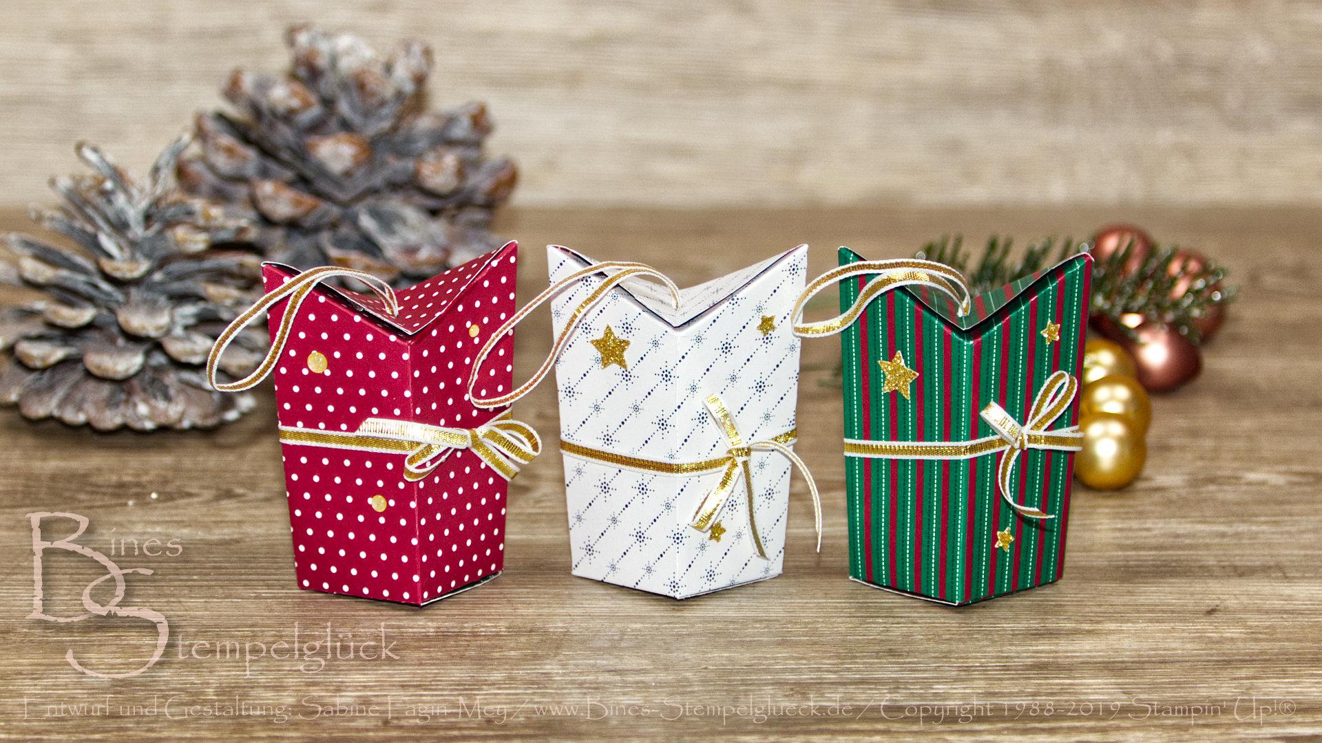 """Weihnachtliche Box """"Extravaganza"""" mit Stampin' Up! Produkten"""
