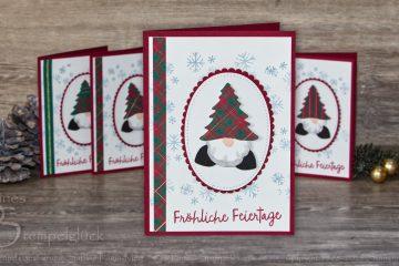 Weihnachtsgrüße vom Wichtel- Basteln mit Stampin' Up! Produkten