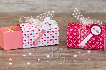 """Mini Briefkasten/Mailbox """"Von Herzen"""" mit Stampin' Up! Produkten"""