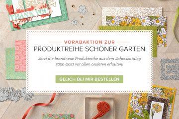 """Produktreihe """"Schöner Garten"""" mit Stampin' Up!"""