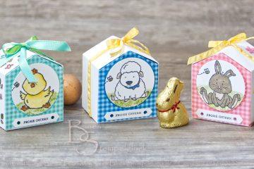 Häuschenbox zu Ostern mit Stampin' Up!