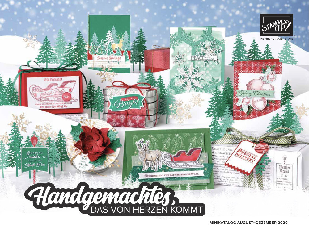 Minikatalog August-Dezember 2020 • Stampin' Up!