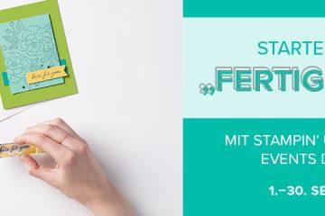 """Starterset-Aktion """"Fertig und los"""" mit Stampin' Up!"""
