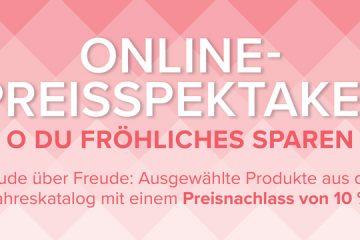 Online-Preisspektakel mit Stampin' Up!