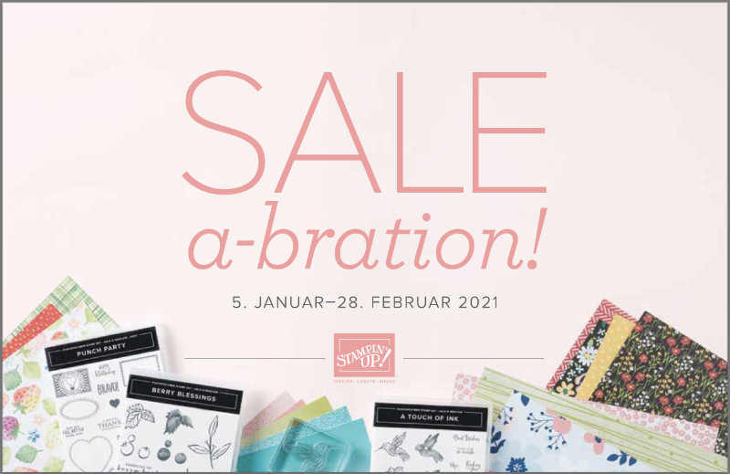 Sale-A-Bration 5. Januar - 28. Februar 2021 / Stampin' Up!