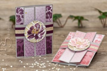 Gatefold Fun Fold Card mit Stampin' Up!