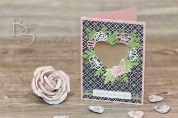 Grußkarte zum Valentinstag mit Stampin' Up!