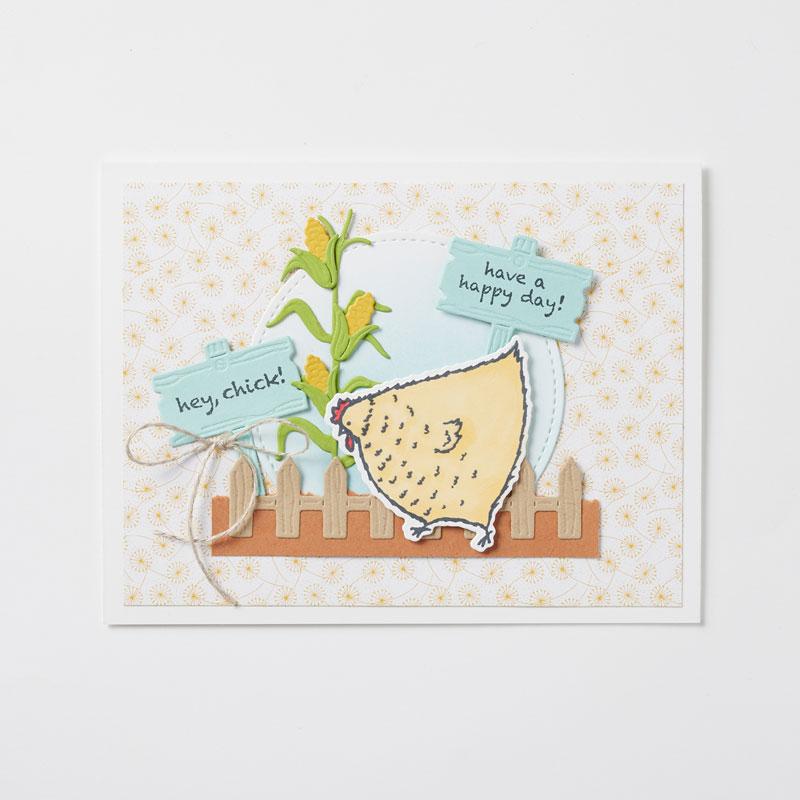 Produktpaket Das Gelbe vom Ei und Hu(h)ndert gute Wünsche von Stampin' Up!