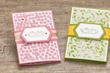 Panel Pop Up Card mit Stampin' Up!