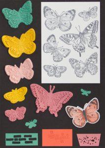 Z-Fold Card Butterfly Brilliance mit Stampin' Up!