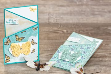 Z-Fold Card Butterfly Brilliance mit Stampin' Up!