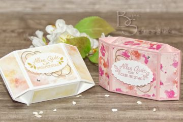 Raffinierte Prisma Box mit Stampin' Up!