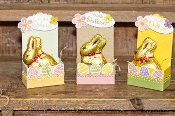 Süße Häschenbox zu Ostern mit Stampin' Up!