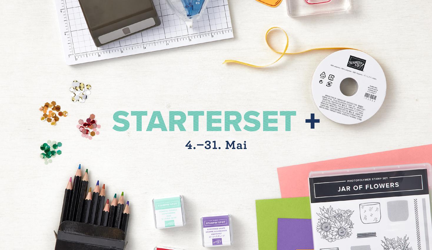Starterset +mit Stampin' Up!