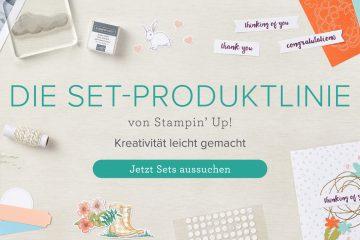 Die Set-Produktlinie von Stampin' Up!