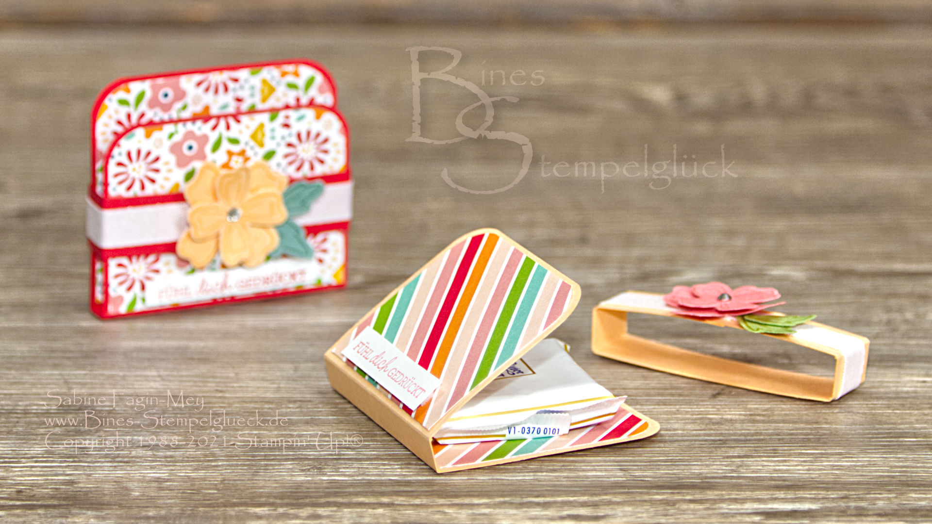 Farbenfrohes Goodie selbst basteln mit Stampin' Up!