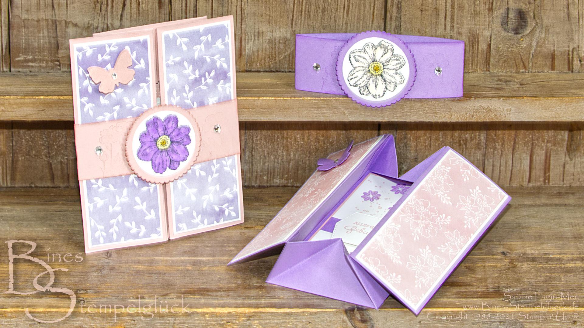 Card in a Box / Schachtelkarte mit Stampin' Up!