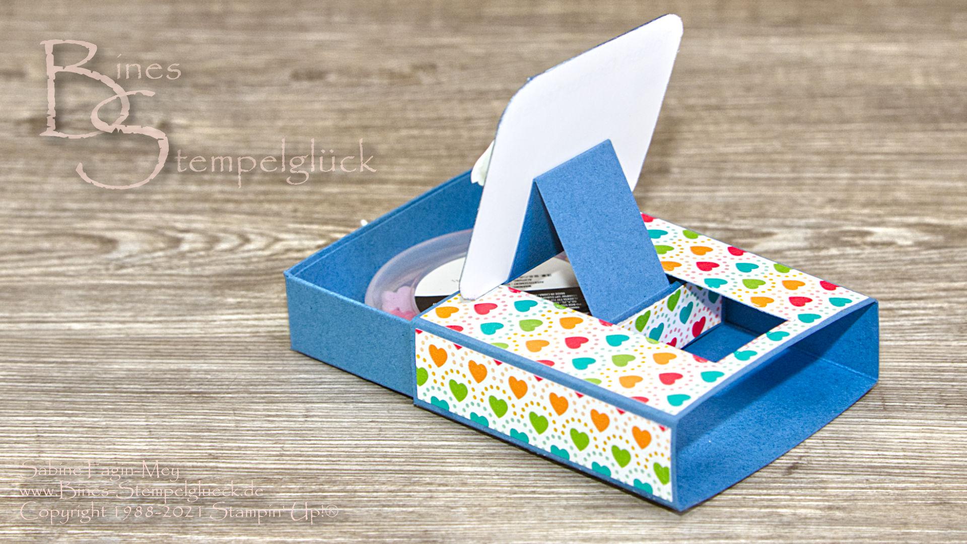 Pull Box Surprise mit Stampin' Up!