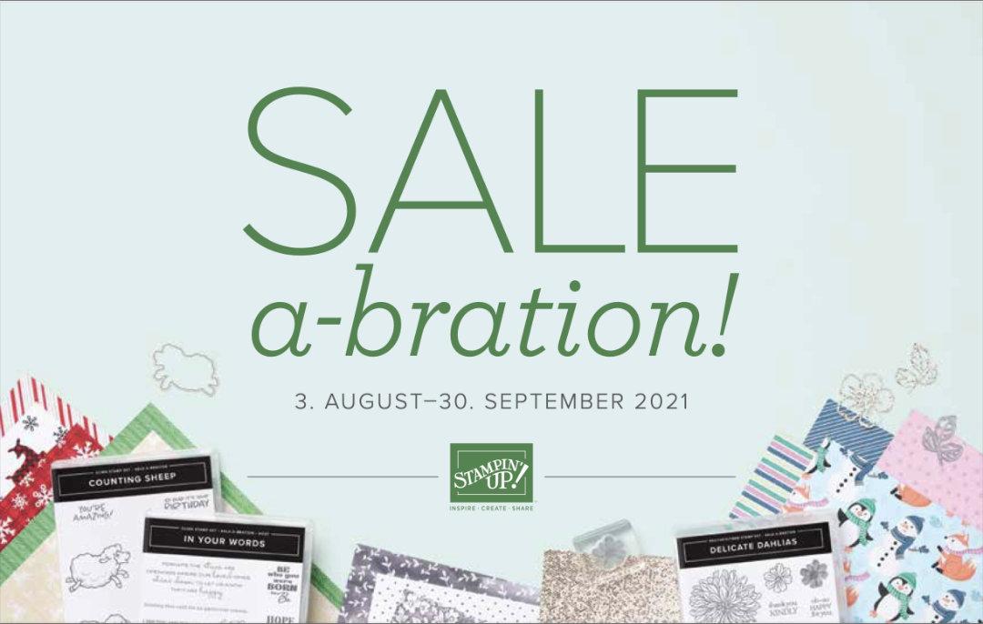 Sale-A-Bration Broschüre - Stampin' Up!