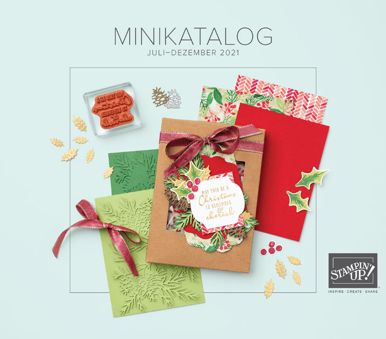 Minikatalog Juli-Dezember 2021 - Stampin' Up!