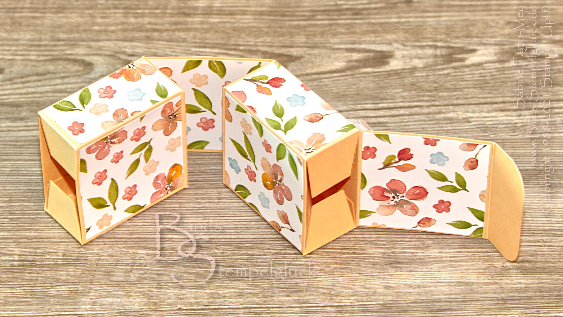 Raffinierte Doppel-Box mit Stampin' Up!