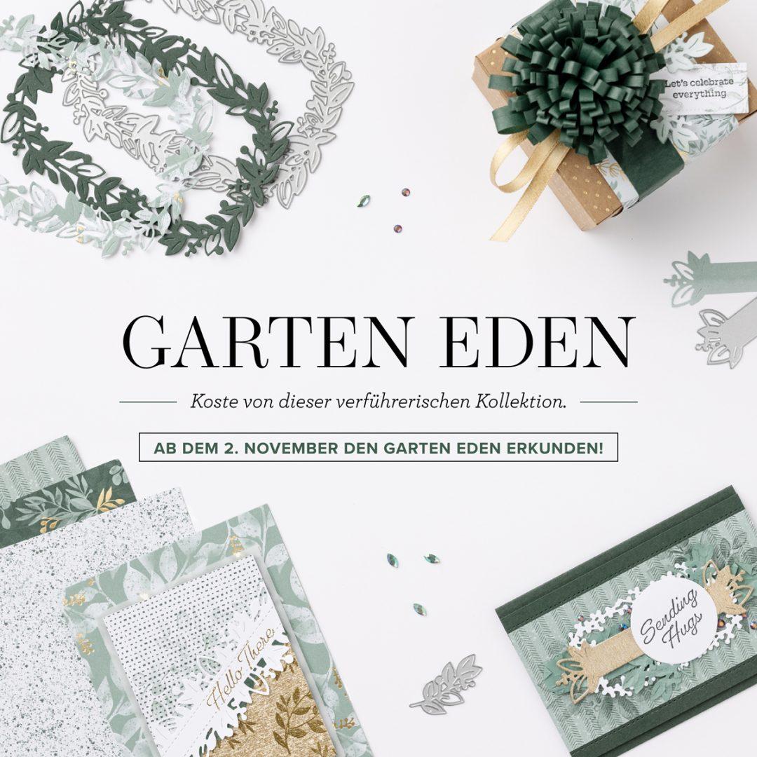 """Neue Vorab-Aktions """"Garten Eden"""" von Stampin' Up!"""