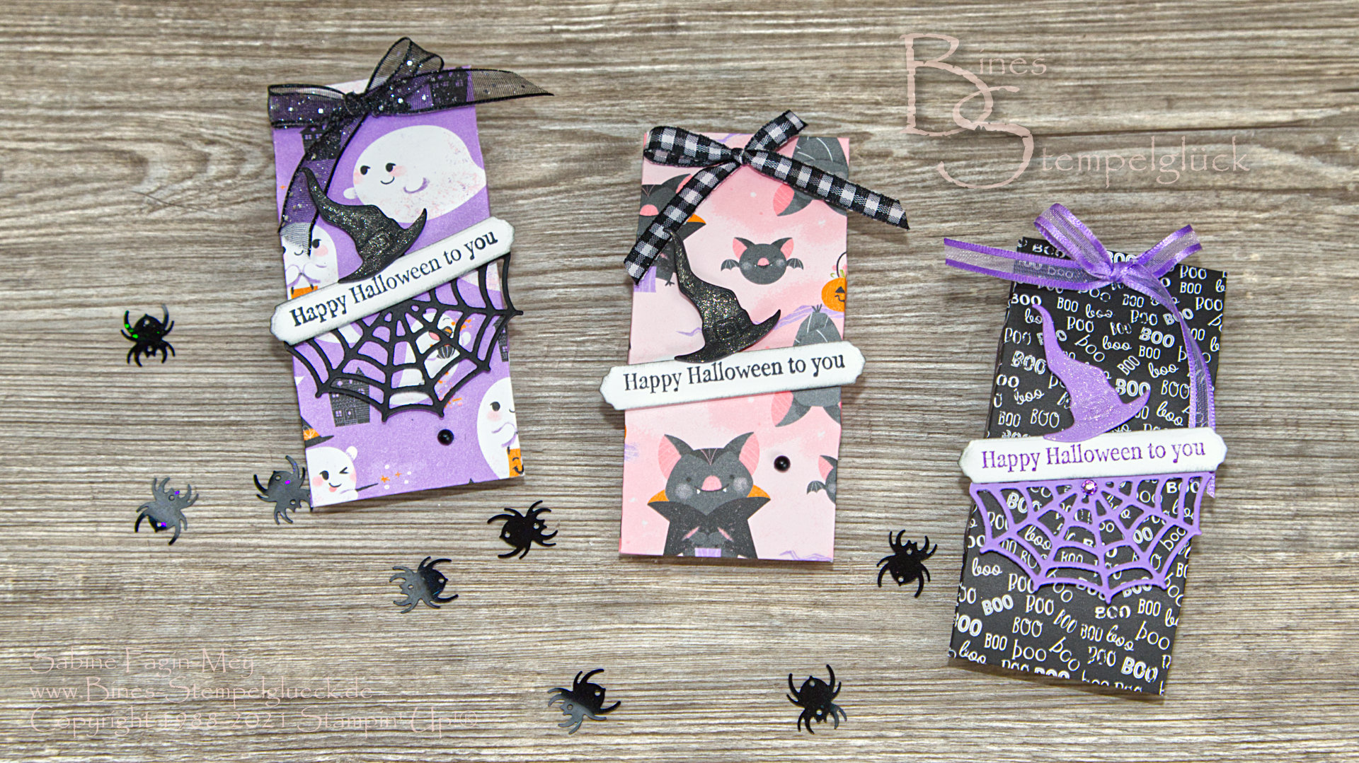 Schnelles Halloween Goodie basteln mit Stampin' Up!