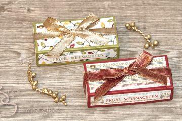 X-mas Box Frohe Weihnachten mit Stampin' Up!
