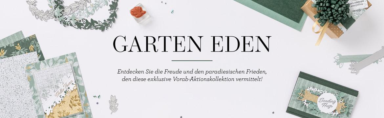 """Neue Vorab-Aktionskollektion """"Garten Eden"""" von Stampin' Up!"""