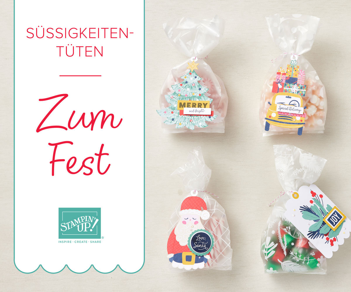Süßigkeiten-Tüten Zum Fest von Stampin' Up!